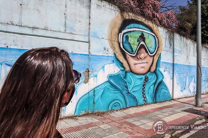 Los grafitis de Ronda Norte en Torrejón