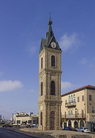 Visitar Jaffa: Torre del reloj