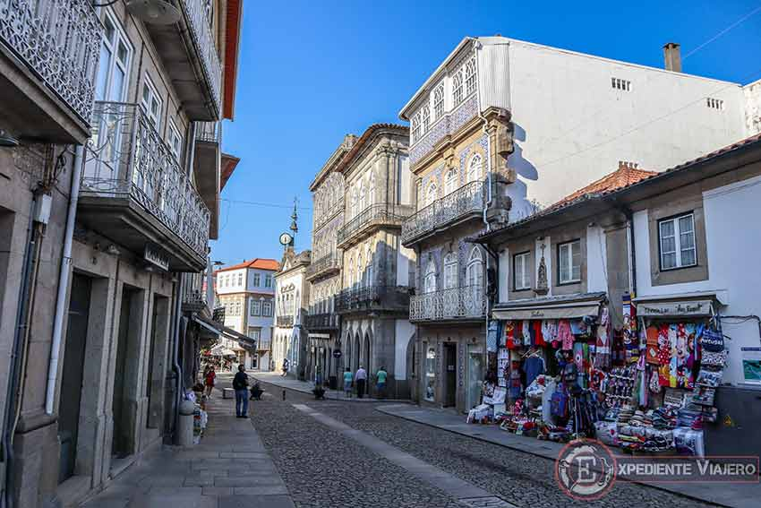 Visitar la Fortaleza de Valença do Miño: Calles y comercios