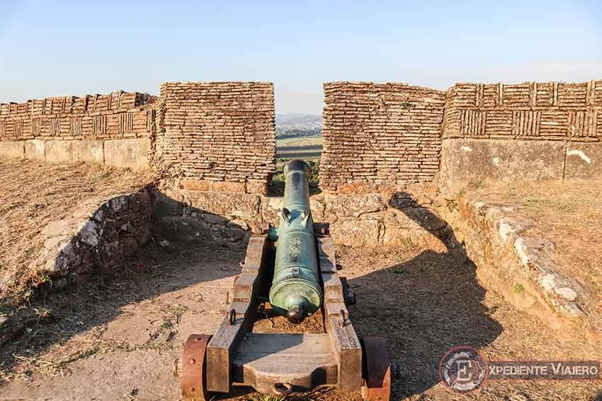 Visitar la Fortaleza de Valença do Miño: Cañones