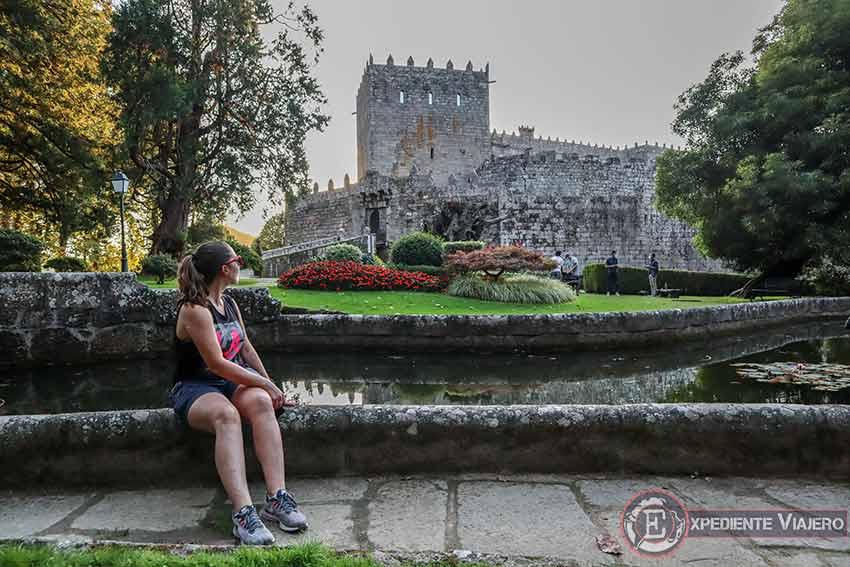 Visitar el Castillo de Soutomaior y sus jardines: Estanque da Ría