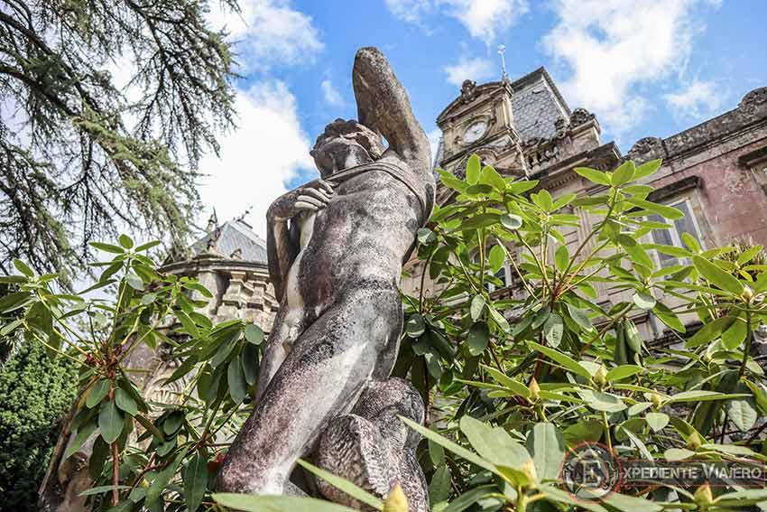 Visitar el Pazo de Lourizán: Estatua