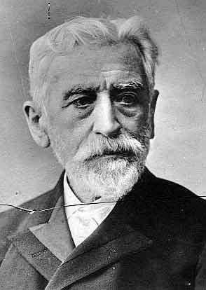 Retrato de Eugenio Montero Ríos, dueño del Pazo de Lourizán