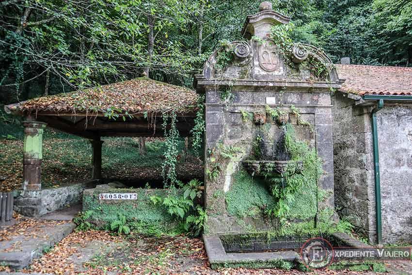 Visitar el Pazo de Lourizán: Fuentes