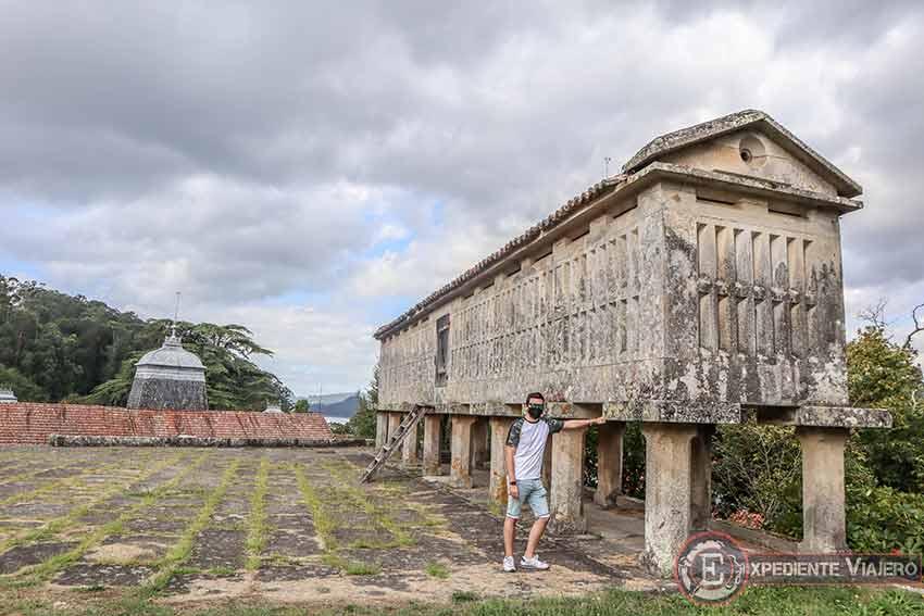 Visitar el Pazo de Lourizán: Hórreo gallego