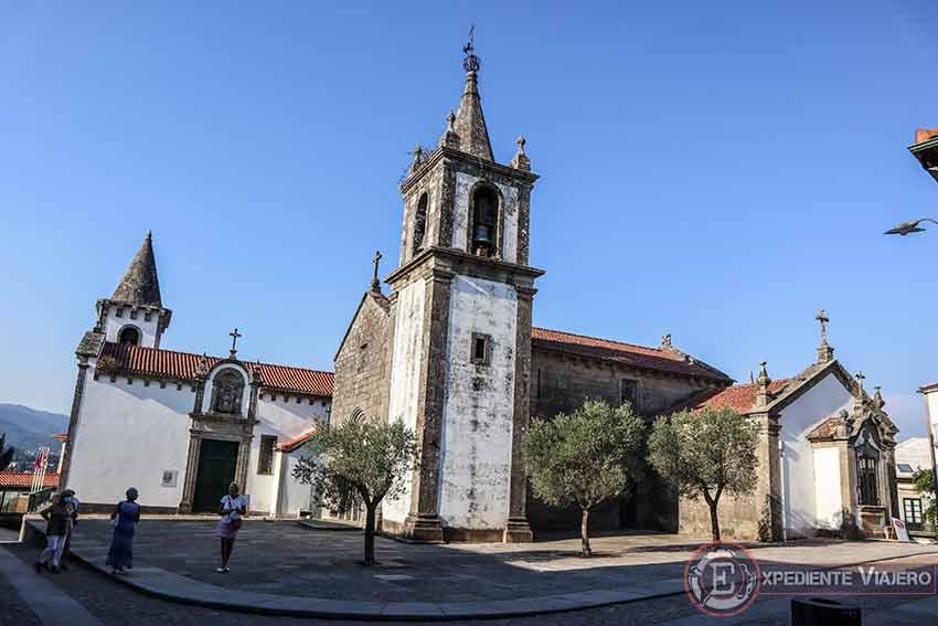 Visitar la Fortaleza de Valença do Miño: Iglesia de Santa María dos Anjos