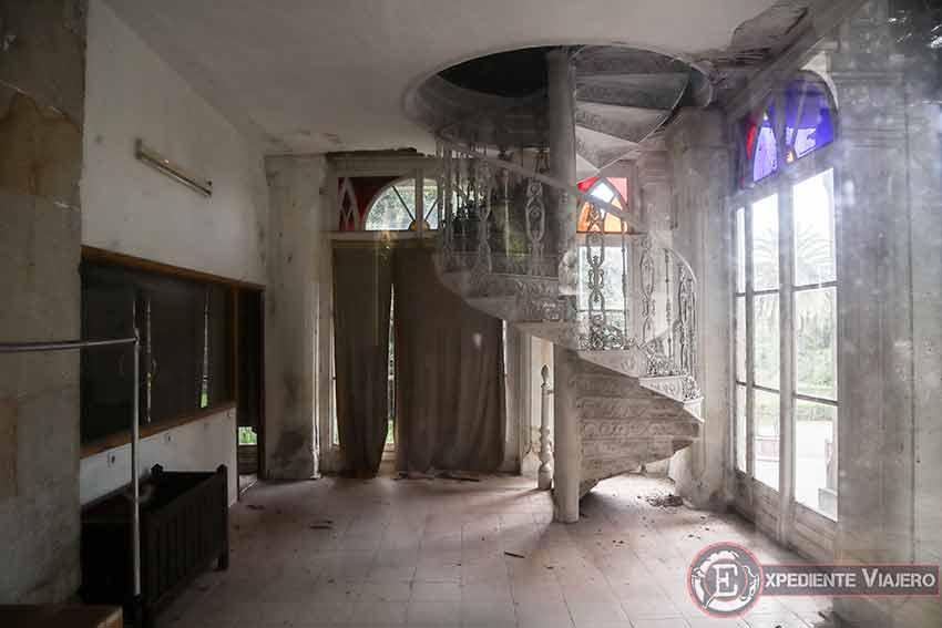 Visitar el Pazo de Lourizán: Interior
