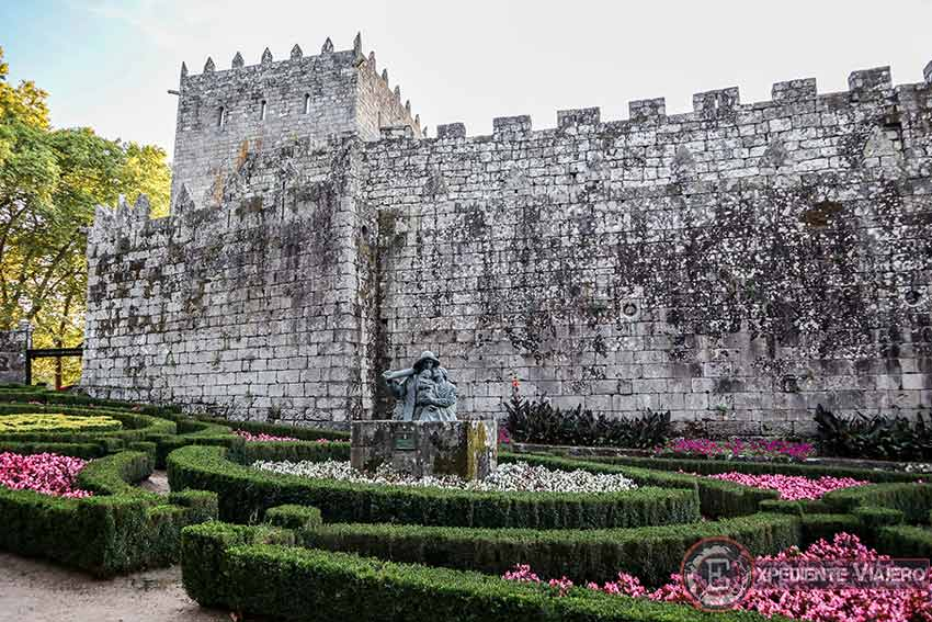 Jardín Francés del Castillo de Soutomaior