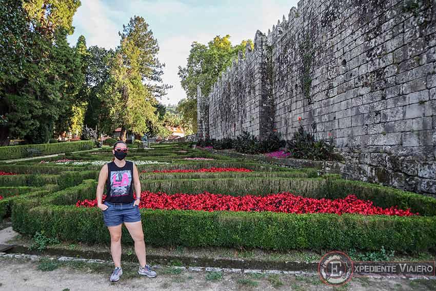 Visitar los jardines del Castillo de Soutomaior