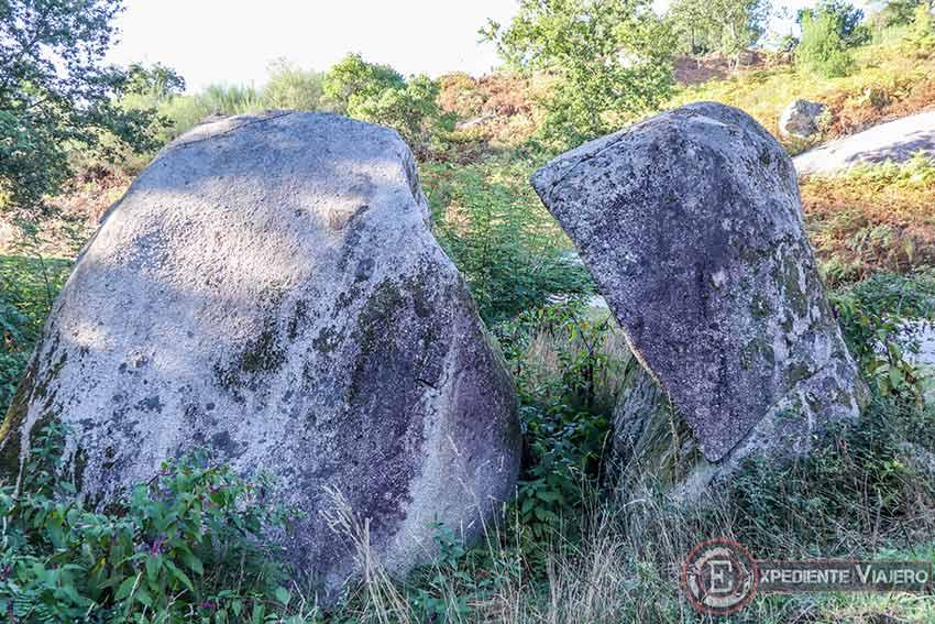Piedra del Monje en el Monte da Piaraña (Ponteareas)