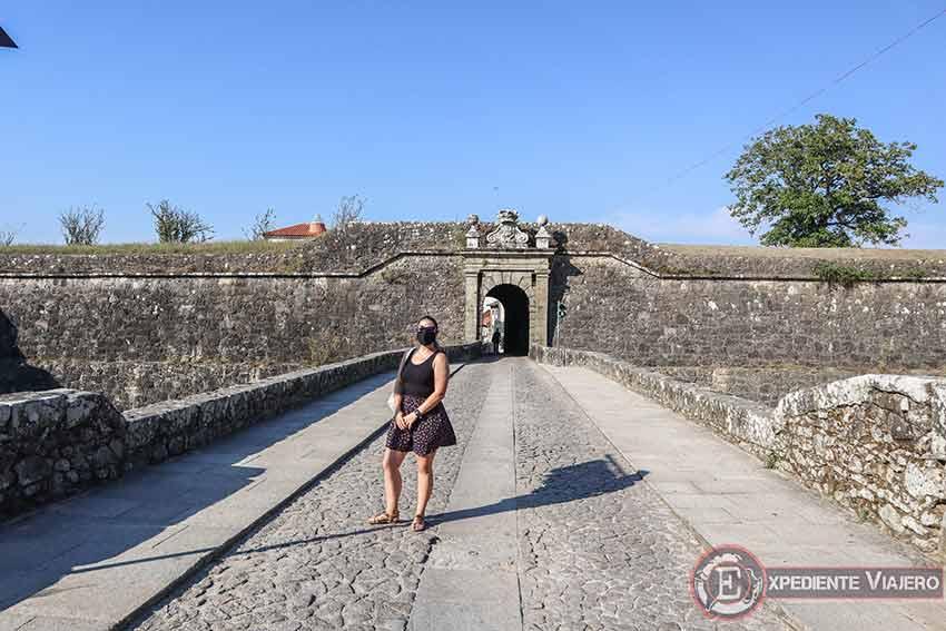 Visitar la Fortaleza de Valença do Miño: Porta do Meio
