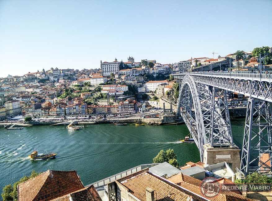 Vistas del Puente de Don Luis I y la Ribeira