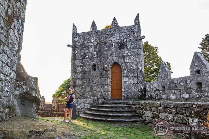 Visitar el Castillo de Soutomaior y sus jardines: Torre del Conde