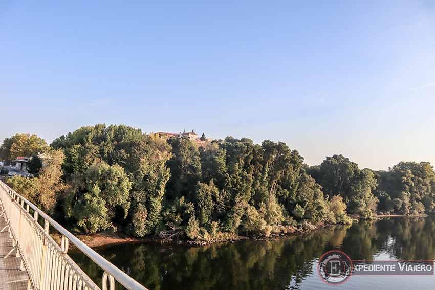 Vistas de la Fortaleza de Valença do Mño desde el puente
