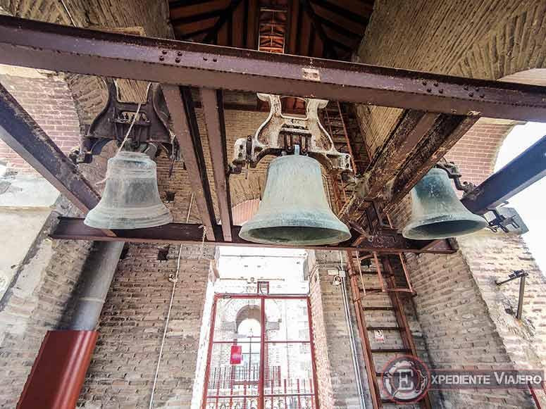 Campanas de la Iglesia de San Ildefonso en Toledo