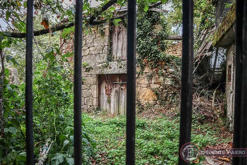Casa en la aldea de Vilouxe