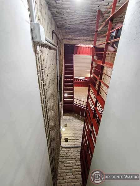 Escaleras de la Iglesia de San Ildefonso en Toledo