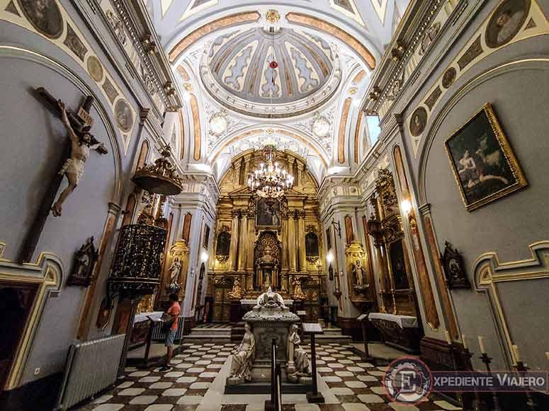 Iglesia del Real Colegio de las Doncellas Nobles en Toledo