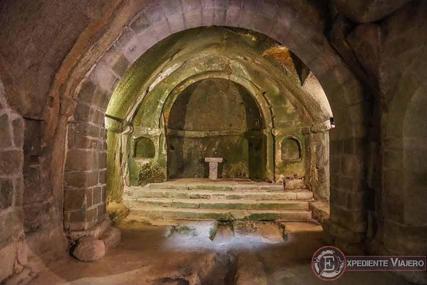 Capilla central del Monasterio de San Pedro de Rocas