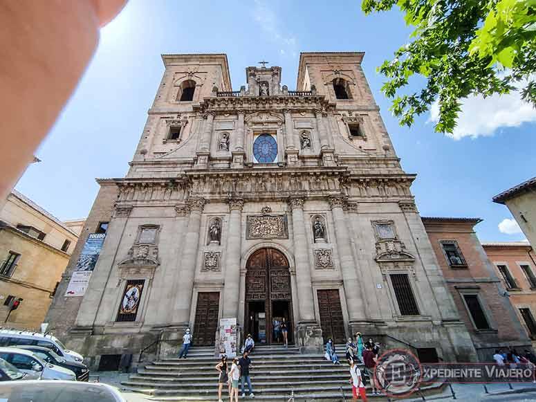 Qué ver en el casco histórico de Toledo: Iglesia de San Ildefonso (jesuitas)