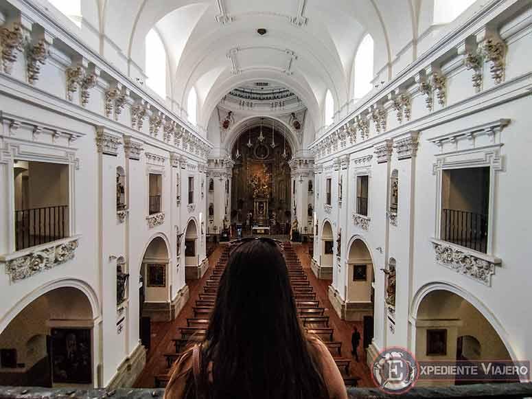 Interior de la Iglesia de San Ildefonso (jesuitas)