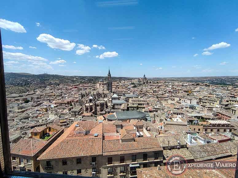 Mirador desde lo alto del Alcázar
