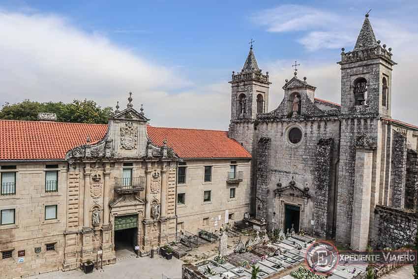 Ruta en coche de un día por la Ribeira Sacra: Monasterio de San Estevo de Ribas de Sil