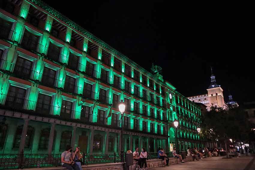 Plaza de Zocodover  de noche