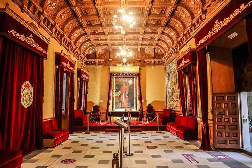 Sala Rectoral del Real Colegio de Doncellas Nobles