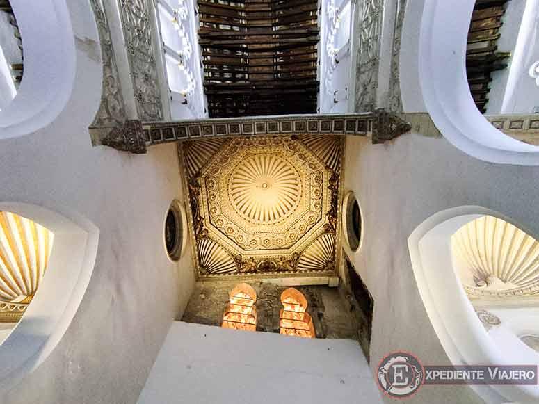 Techo de la sinagoga de Santa María la Blanca