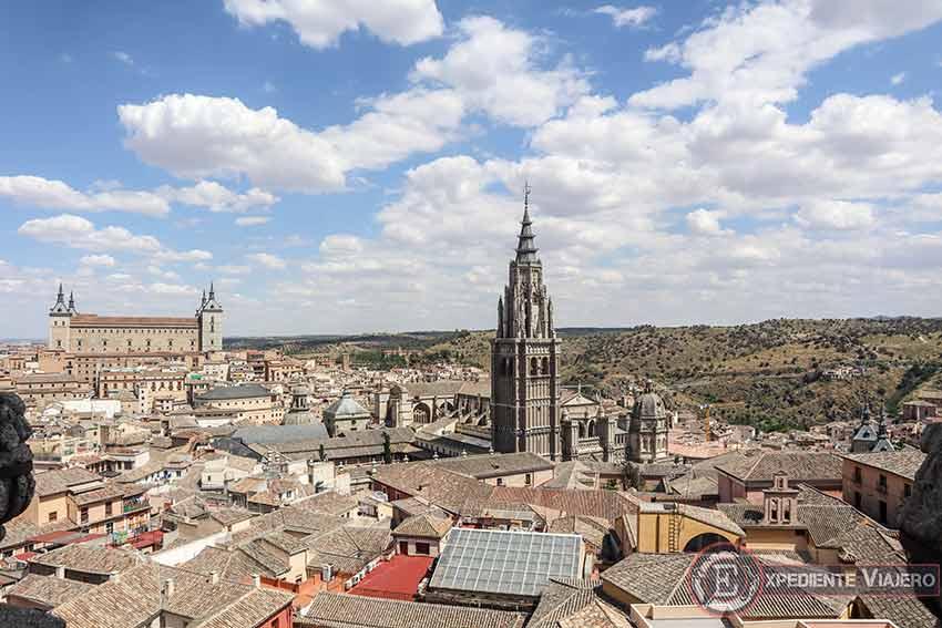 Vistas desde el mirador de la Iglesia de San Ildefonso de Toledo