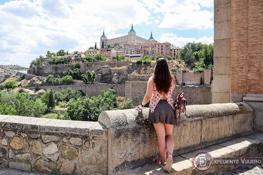 Vistas desde el Puente de Alcántara