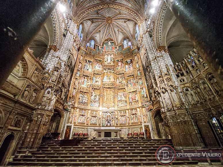 Capilla Mayor de la Catedral de Toledo