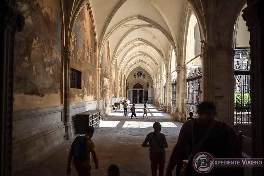 Claustro de la Catedral de Toledo