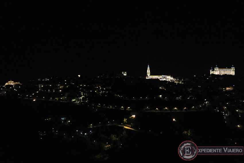 El mejor mirador para Toledo por la noche