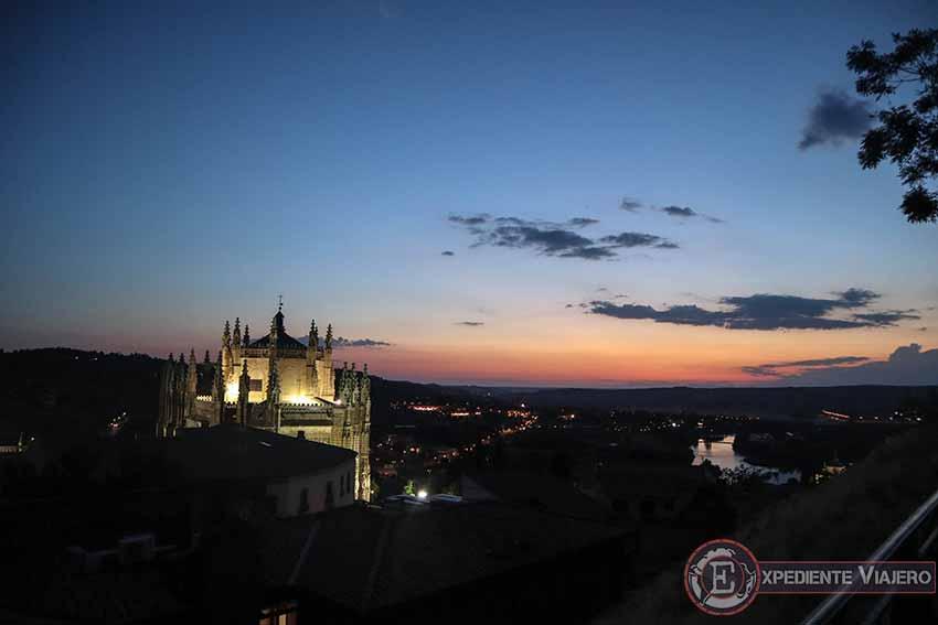 Qué ver en el casco histórico de Toledo: Miradores para ver Toledo por la noche