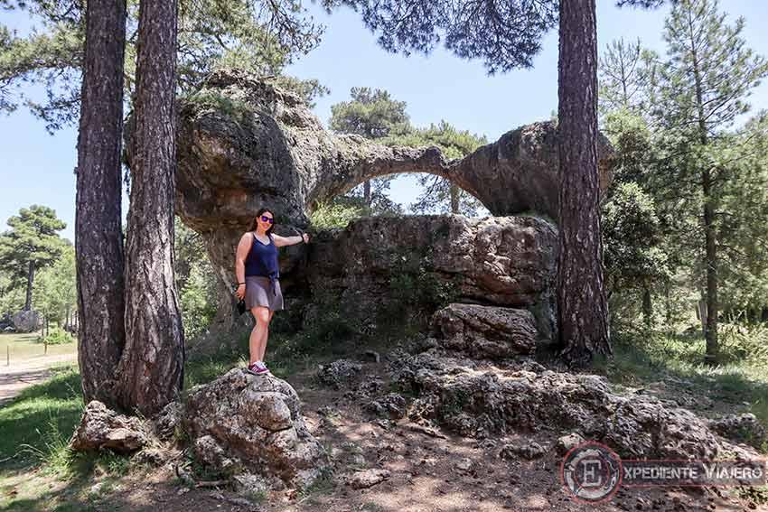El Puente Romano de ruta por la Ciudad Encantada