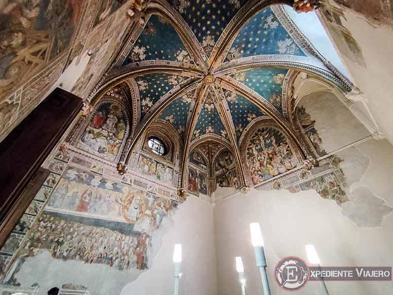Murales de la Capilla de San Blas en Toledo