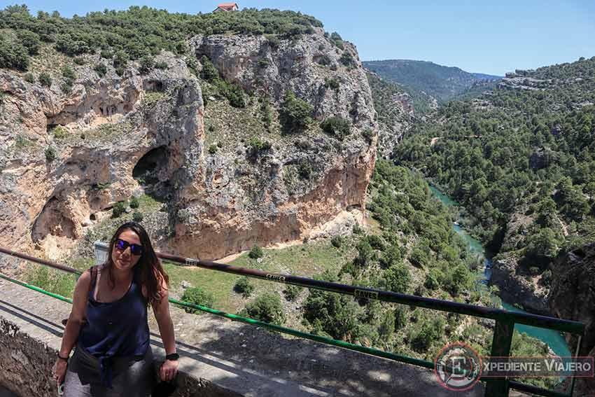 Vistas desde el mirador del Ventano del Diablo (Cuenca)