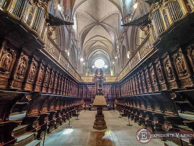 El coro de la Catedral de Cuenca