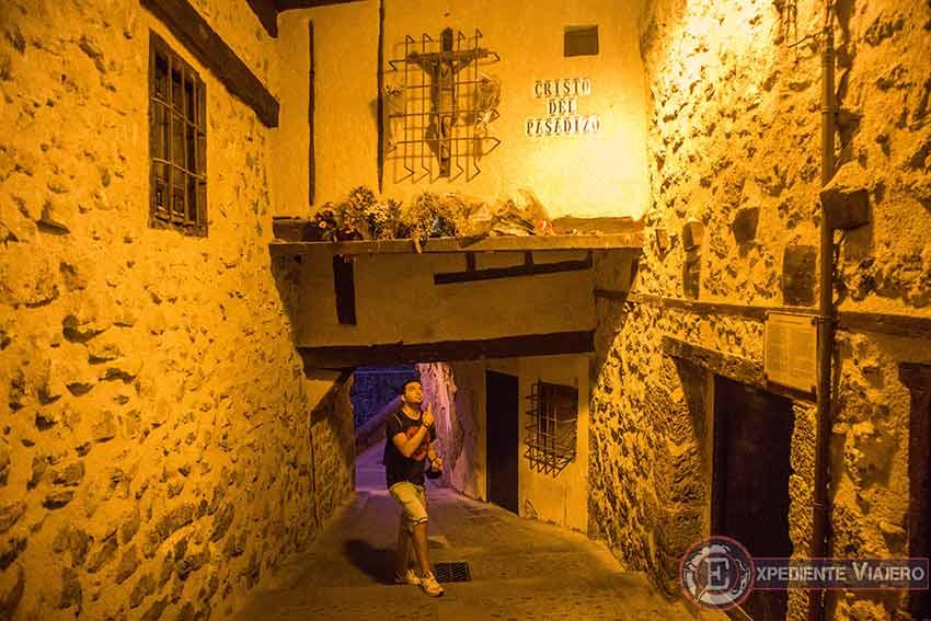 La Leyenda del Cristo del Pasadizo en Cuenca