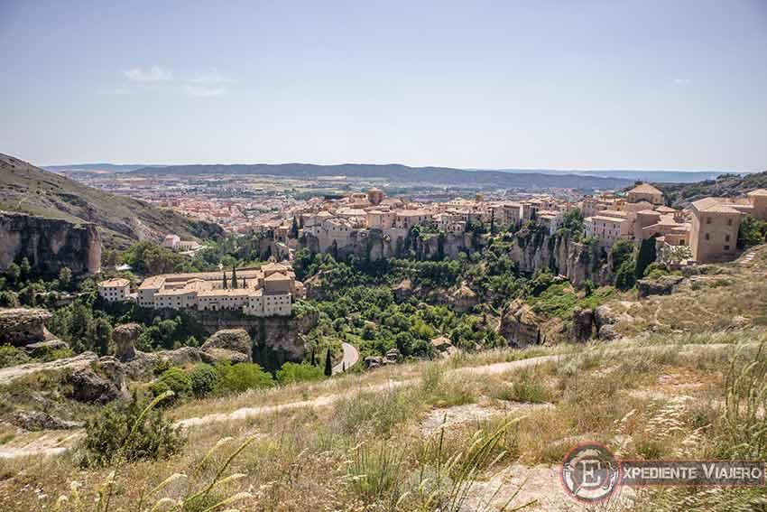 C贸mo visitar el casco hist贸rico de Cuenca: Mirador de Cuenca de d铆a