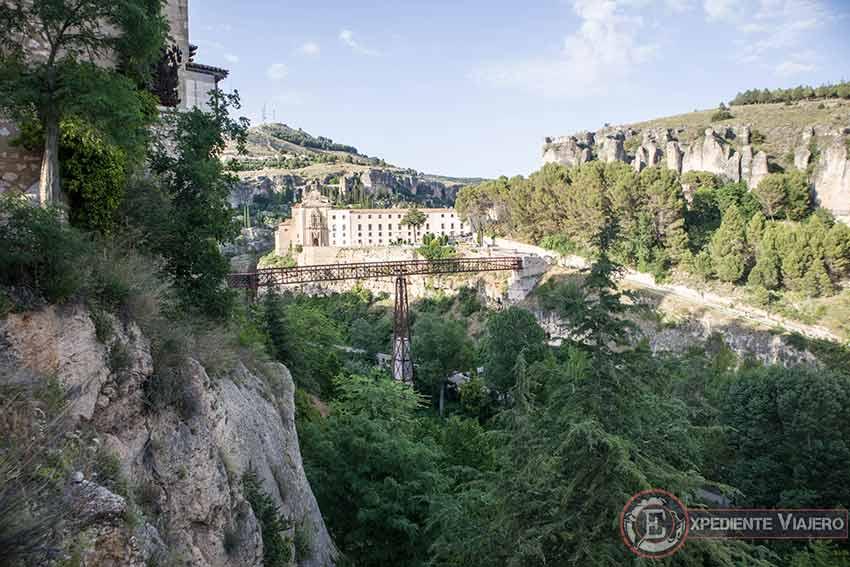 Vistas desde los Miradores del Hu茅car en Cuenca