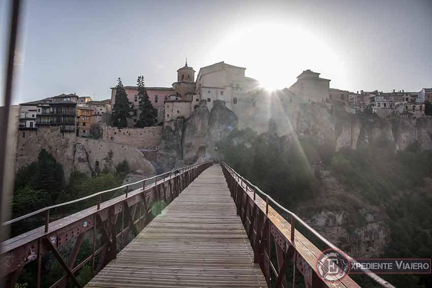 Puente de San Pablo cortado