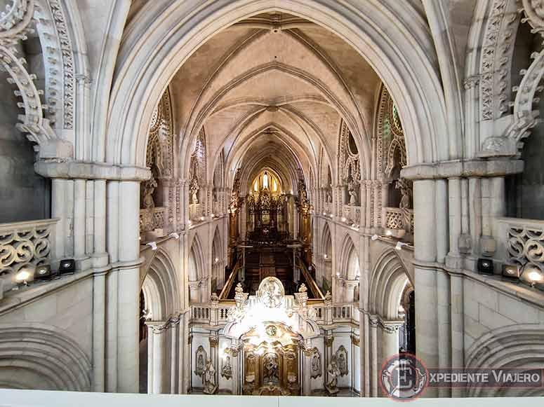 C贸mo visitar el casco hist贸rico de Cuenca y su catedral: el triforio