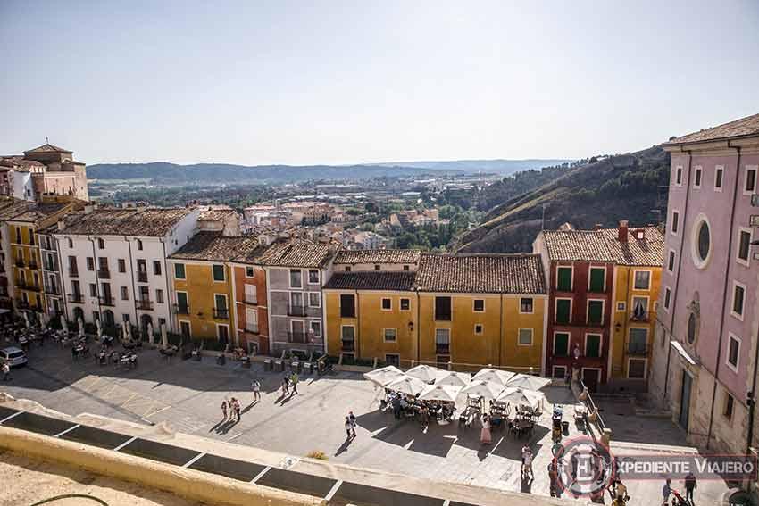 Vistas desde lo alto de la Catedral de Cuenca